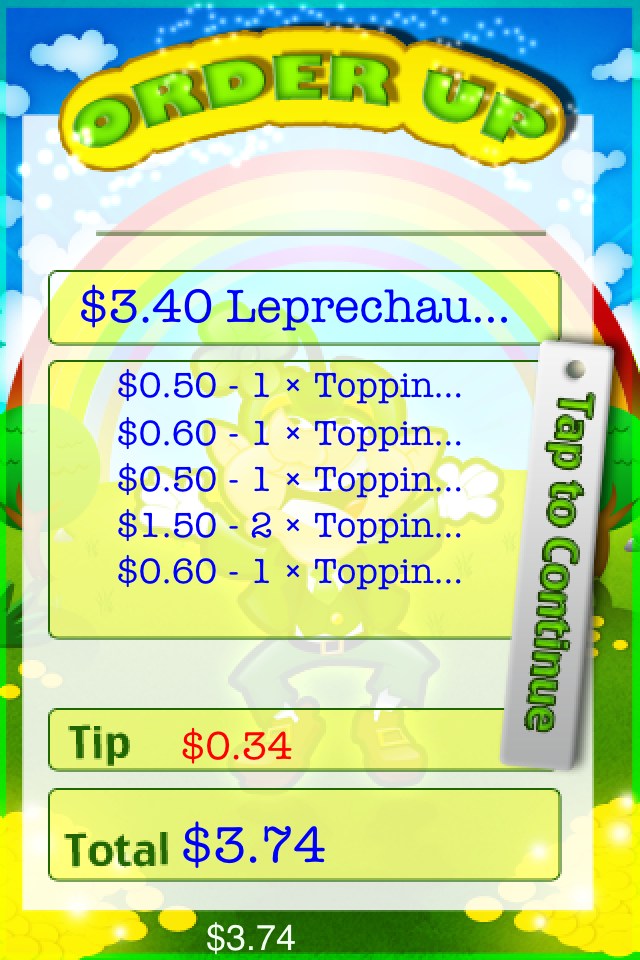 Screenshot iRish Leprechaun