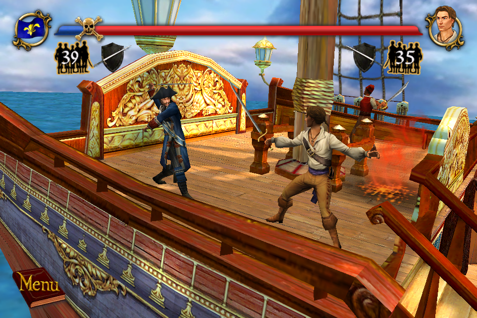 Screenshot Sid Meier's Pirates!